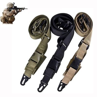 Rifle Bungee Airsoft 3 Point Tactical Sling Single 3 Point Tactical Airsoft Rifle