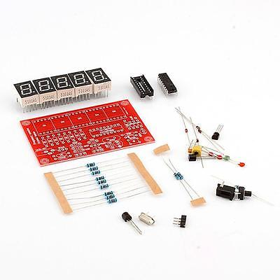 1Hz-50MHz Crystal Oscillator Frequency Counter Meter Digital LED PIC DIY Kits K6