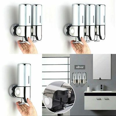 Bathroom Wall Mounted Shower Soap Shampoo Gel Dispenser Liquid Bottle 500-1500ml