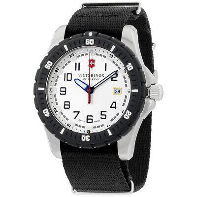 Victorinox Swiss Army Quartz Movement White Dial Men's Watch 241676.1