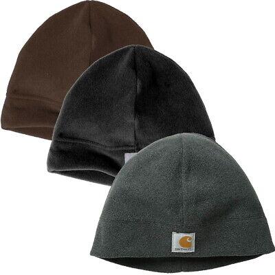 Carhartt Fleece Beanie Winter Hat Knit Warm CTA207 - Choose Color- -