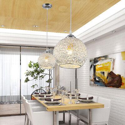 Lámpara de Techo Colgante de Araña Elegante de Cristal 1 Luces E27