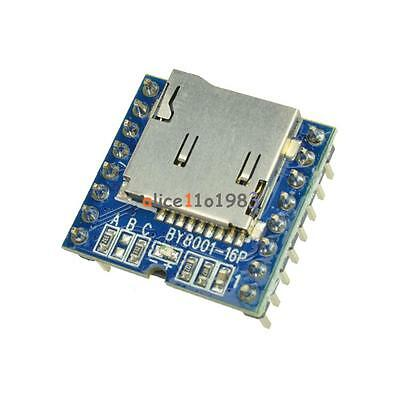 Micro Sd Tf U-disk By8001-16p Mp3 Player Arduino Audio Voice Module Board
