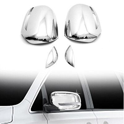 Chrome Side Mirror Cover Molding Garnish LH RH for KIA 2015-2018 Sedona Camival