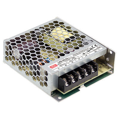 Mean Well Lrs-50-24 52.8w 24v 2.2a Single Output Switchable Power Supply