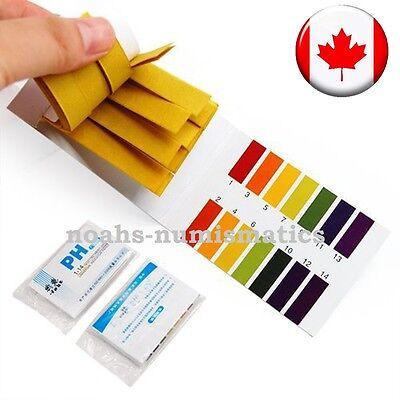80 Ph Test Strips Litmus Test Paper Full Range 1-14 Ph Acidic Alkaline Indicator