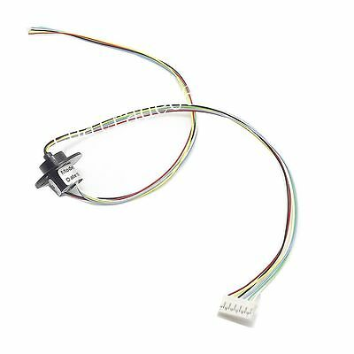 6 Wires 6 Conductors Capsule Slip Ring 12.5mm 300rpm 240v Ac For Monitor Robotic