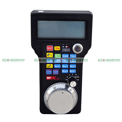 Cnc Usb Wireless Remote Handheld Handwheel Hand Wheel 34 Axis Control System
