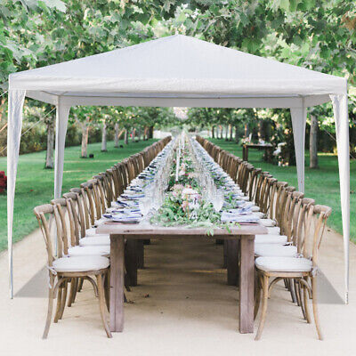 Outdoor Gazebo Canopy Wedding Party Patio Folding Tent Shelter Waterproof White