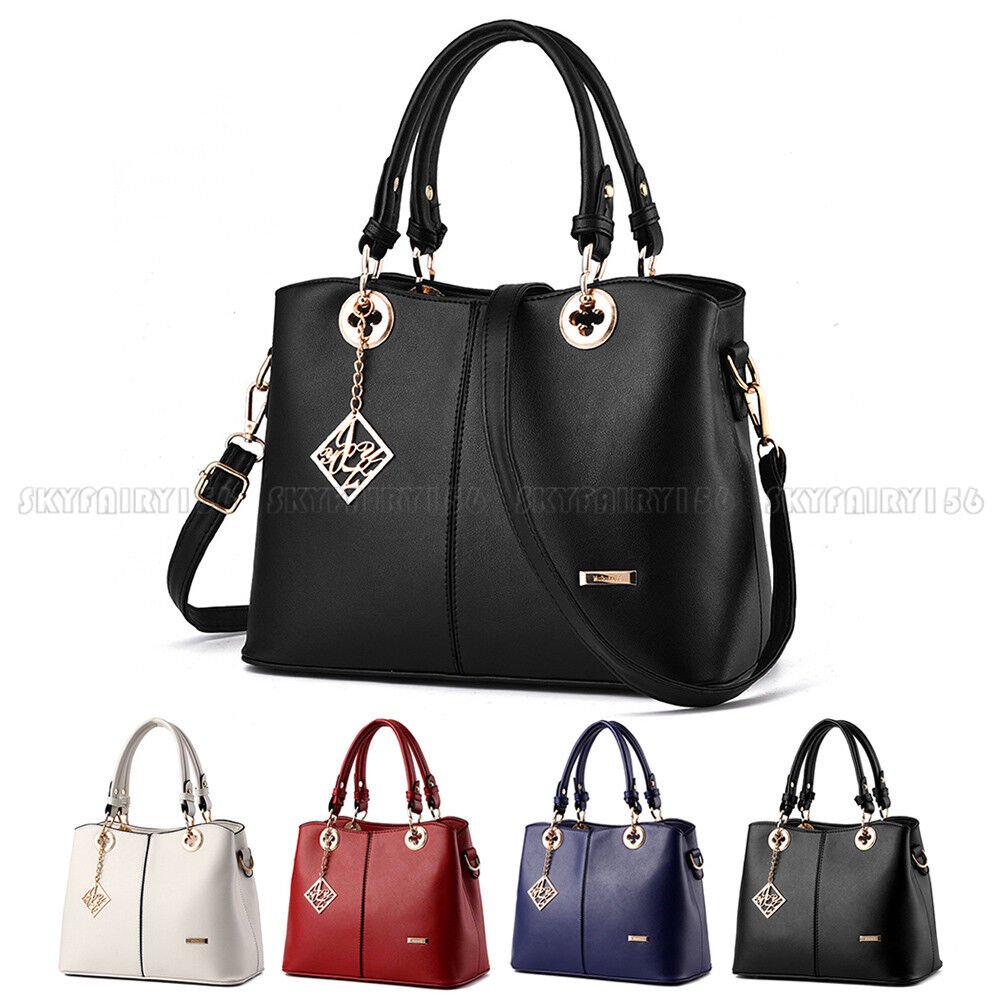 fashion leather women handbag shoulder bags lady