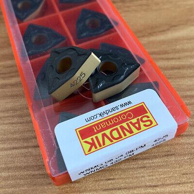 10pcs 1pack Wnmg080408-pm 4225 Wnmg432 -pm Carbide Inserts Lathe Tools Cnc Tool