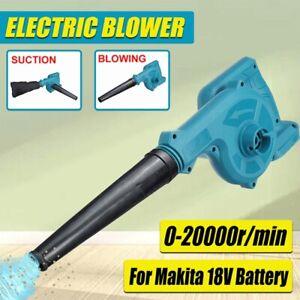 Cordless Garden Leaf Blower Electric Air Vacuum Snow Dust Lightweight 2-in-1