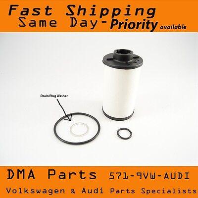 - VW Audi 02E automatic trans DSG transmission filter kit Dual Clutch Drain Washer