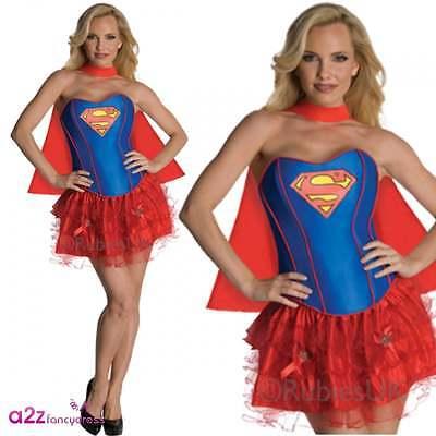 Supergirl Sexy Secret Wishes Erwachsene Lizenzierte Kostüm - Lizenzierte Supergirl Kostüme