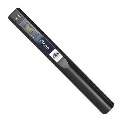 Senza fili 900DPI iScan portatile LCD Scanner A4 documento foto ricevute libro