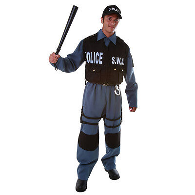 . Police Officer Costume By Dress up America (Deluxe Police Officer Kostüm)