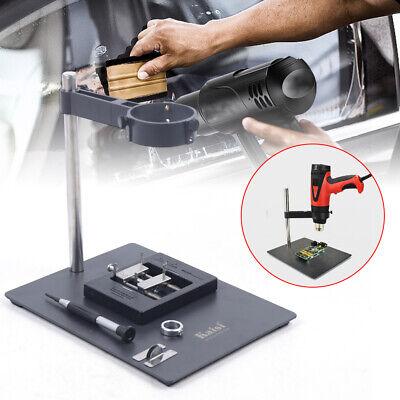 Hot Air Heat Gun Clamp Bracket Holder Support Stand Soldering Repair Platform