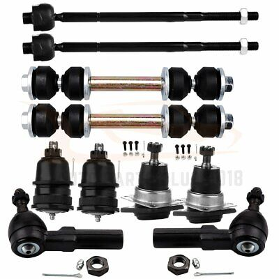 For Chevrolet Camaro 1993-2001 2002 10pcs Front Ball Joints Tie Rods Sway Bars