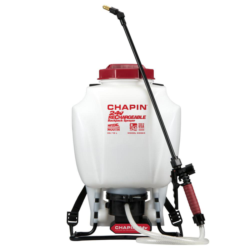4 Gal. Rechargeable 24-Volt Lithium-Ion Battery Powered Back