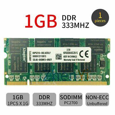 1GB DDR1 333MHz PC1-2700 200Pin SO-DIMM RAM Laptop Memoria RAM Para Kingston...