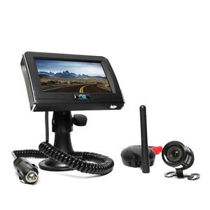 Rear View Safety Wireless Backup Camera System RVS-091406 (Black) Condition: New