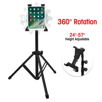 "Adjustable Tripod Floor Stand Mount Holder Bracket For iPad 1 2 3 7""-13"" Tablet"