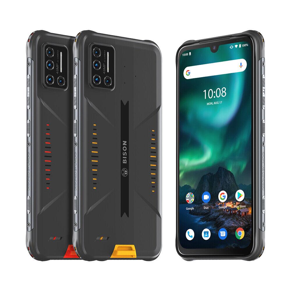 Android Phone - UMIDIGI BISON Rugged Smartphone Waterproof Shockproof 6GB 128GB Factory Unlocked