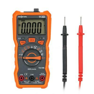 Richmeters Rm113d Ncv Digital Multimeter Frequency Meter Temperature Tester X3p3