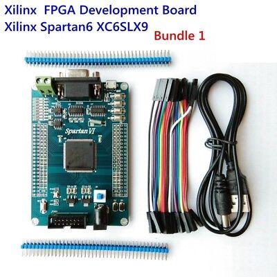 Xilinx Spartan6 Fpga Development Board Kits Module Spartan 6 Xc6slx9 With Usb Rs