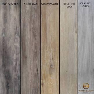 Vinyl Luxury Flooring 5mm Click-Lock System