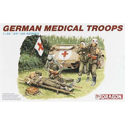 NEW Dragon Models 1/35 German Medical Troop (4) 6074