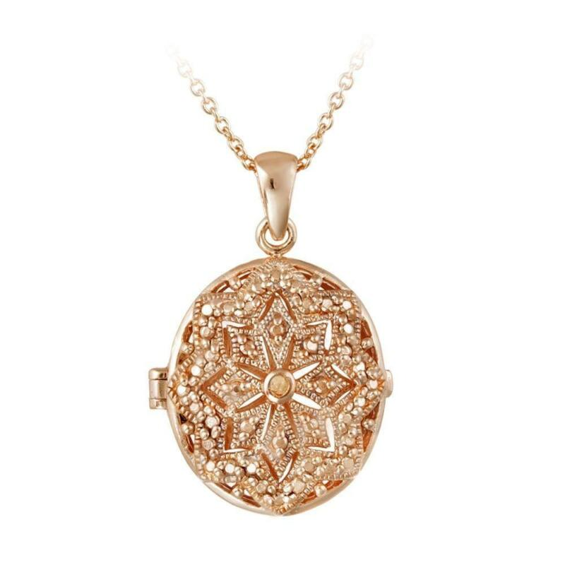 Gold Plated Silver Necklace Set 290 00: 18K Rose Gold Plated Necklace