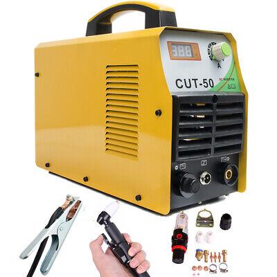 Air Plasma Cutter 50a Dc Inverter 110v220v Cutting Welders Non-pilot Arc Torch