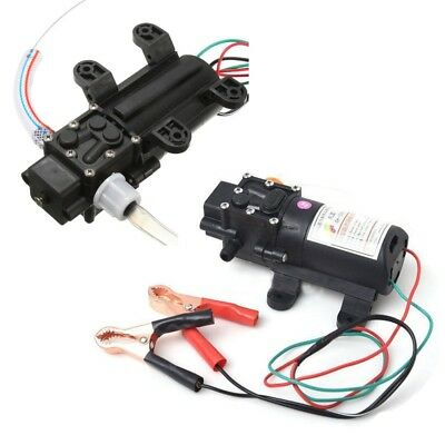 12v Fuel Transfer Pump Oil Diesel Gas Gasoline Kerosene Car Tractor Truck 5lmin