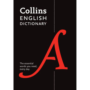 Collins English Dictionary by Collins (Paperback), Back to School, Brand New