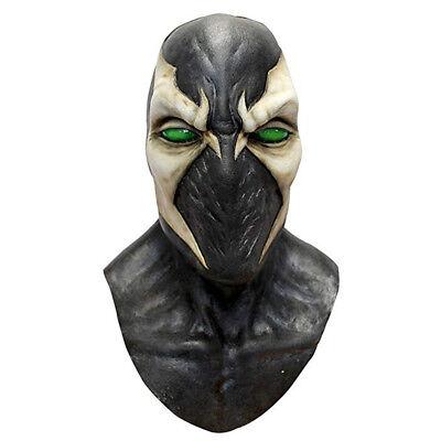 Spawn Mask Halloween (Deluxe Spawn Hell Comic Anti hero Full Overhead Ghoulish Adult Halloween)