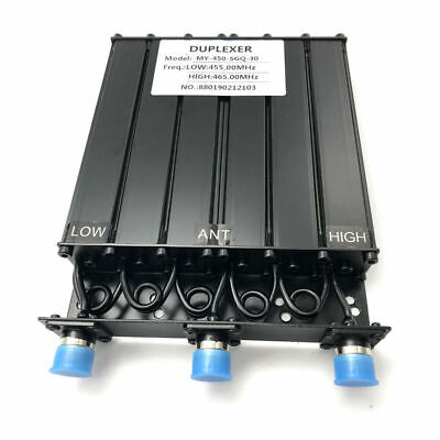 30w Uhf Duplexer 400520mhz Uhf Duplexer For Radio Repeater