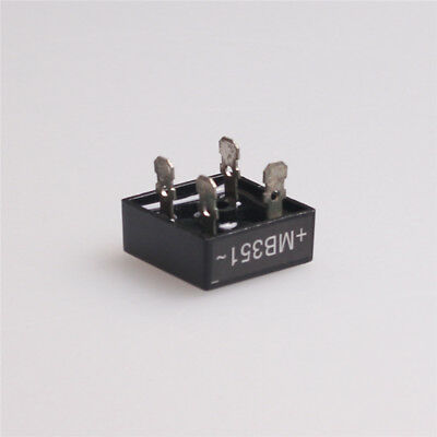 2x 35a 100v Metal Case Single Phases Diode Bridge Rectifier Mb351