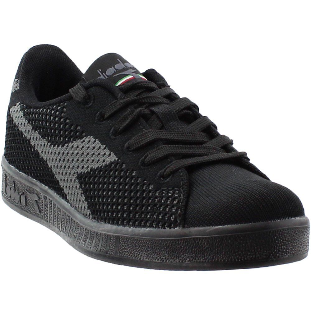 Diadora Game Weave  Casual   Sneakers - Black - Mens