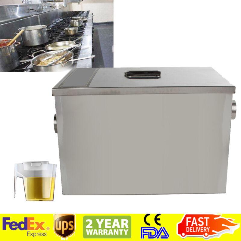 FDA Grease Trap Interceptor Set For Restaurant Kitchen Wastewater Removable
