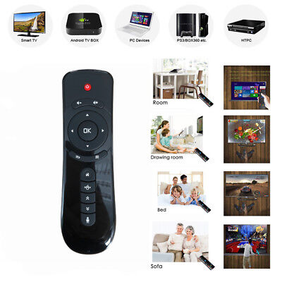 T2 2.4 GHz Wireless Air Fly Mouse Keyboard Remote Control for Android TV Box PC