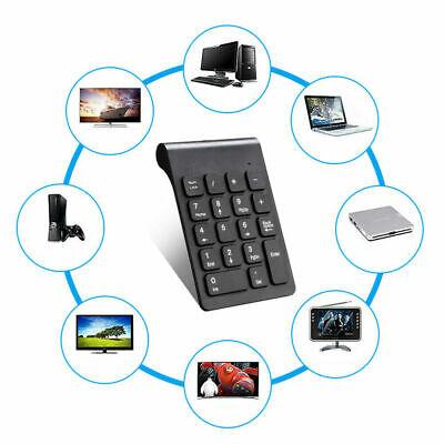 Key Keypad - New 18 Keys 2.4GHz Wireless USB Number Pad Numeric Keypad Keyboard For Laptop PC