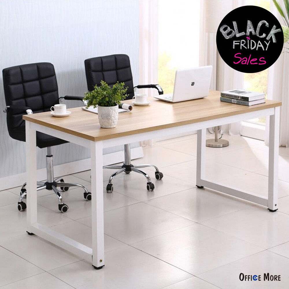 Computer Desk PC Laptop Wood Table Workstation Study Home Office Furniture