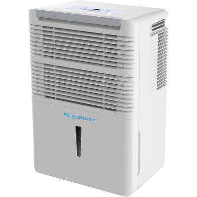 Keystone 50 Pint Energy Star Dehumidifier 3 Speed with Auto Restart KSTAD50B_R
