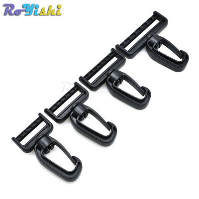 Plastic Swivel Snap Hooks for Bag Belts Straps Keychain Clasp Backpack Accessori Keychain Plastic Snap Bag