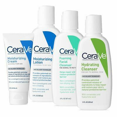 CeraVe Travel Size Toiletries Skin Care Set