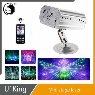 U`King Stage Lighting RG Laser Remote Pattern Projector DJ Disco Bar Party Light