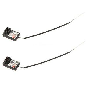 2Pcs Flysky FS-GR3E AFHDS 2.4G 3CH Receiver for GT3B GT2 GT3C Transmitter L4B6