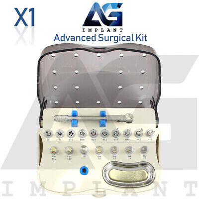 Advanced Kit Dental Implant Surgical Tool Instrument Drills Drivers Internal Hex