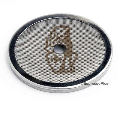 La Marzocco Espresso Machine Group Head Shower Screen W Lion Logo - Oem F.3.040